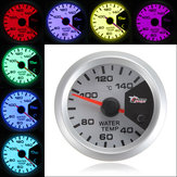 7 Colors 52mm Car LED Thermometer Water Temperature Meter Gauge