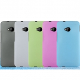 Snow Jade Clear Anti-finger Matte Protective Case for HTC One M7