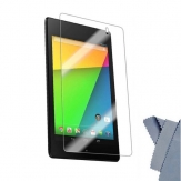 3 X Clear Film Screen Protector Shield For 2nd Generation Nexus 7