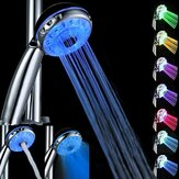 Magic Automatic 7 Color Water LED  Lights Shower Head