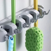 Wall Mounted Mop Brush Broom Organizer Holder Hanger