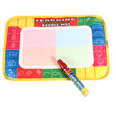 Baby Kids Water Drawing Painting Writing Board Mat Doodle Magic Pen