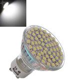 GU10 4.5W White 60 SMD 3528 LED Spotlightt Lamp Bulb AC 220V