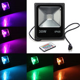 30W IP65 RGB LED Flood Light Wash Garden Lamp AC 85-265V