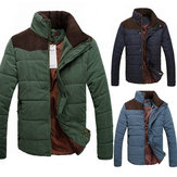 Mens Thicken Winter Warm Coat Jacket Casual Parka Overcoat
