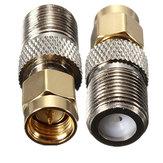 Alliage d'acier f femelle SMA Plug RF connecteur de l'adaptateur coaxial mâle
