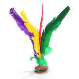 Assorted Feather Chinese Traditional Jianzi Kick Shuttlecock Sport