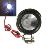 Motorcycle E-Bike Car LED Spot Lightt Headlight 12V-80V 3W Universal
