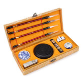 Chinese Calligraphy Set Writing Craft Gift Kits With Case