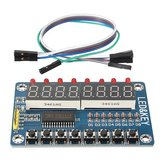TM1638 Chip Key Display Module 8 Bits Digital LED Tube For AVR Arduino
