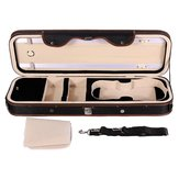 4/4 Violion Box Violin Case with Humidity table Straps locks Waterproof