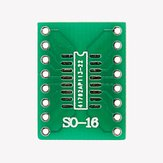 20 Pcs SO16 SSOP16 TSSOP16 SOIC16 To DIP Adapter PCB Board Converter