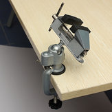 Professional Vises Bench Swivel Vise With Clamp 3 inch Table Top Vise