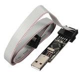 USBASP USBISP 3.3 5V AVR Scaricatore Programmatore con ATMEGA8 ATMEGA128