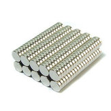 50PCS N52 4mmx2mm Aimants Ronds en Néodyme Aimants de Terres Rares