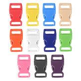 15mm en plastique de presse de côté profilée boucles fixation des sacs de ceinture