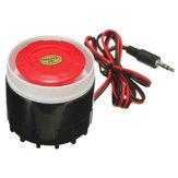 Des mini sirène filaire pour alarme maison sans fil système de sécurité szc-2574