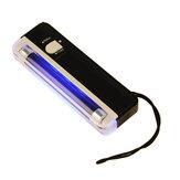 DANIU 2 in 1 UV Black Light Torch Portable Fake Money Cash Detector