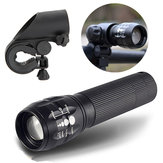 Q5 240Lumens 3Modes Outdooors Bicycle LED Flashlight+ Mount For 18650/AAA