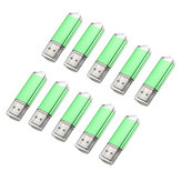 10 x 128MB USB 2.0 Flash Drive Candy Green Memory Storage Thumb U Disk