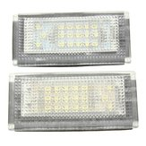 2pcs 18 LED License Nubmer Plate Lights Lamp for Mini Cooper S R50