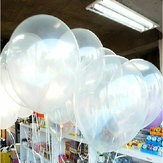 100pcs Clear Birthday Wedding Party Decor Transparent Balloons