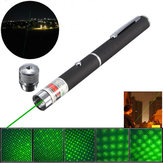 XANES GD11 5-in-1 532nm Powerful All Star Green Laser Pointer Pen +0.5mw Star Cap