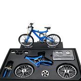 Vélo Modèle Simulation DIY Alliage Montagne / Route Vélo Ensemble Décoration Cadeau Modèle