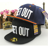 Baby Children Unisex Baseball Cap Adjustable Snapback Sport Hip-Hop Dance Flat Peak Hat