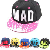 Baby Kid Child's Hip-hop Style Letter MAD Snapback Peaked Adjustable Baseball Hat Cap