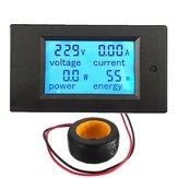 Geekcreit® 100A 22000W Power Monitor Module AC Meter Panel 45-65Hz Test Voltage AC 80-260V