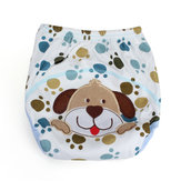 Baby Infant Toddler Cartoon Printed Soft Diaper Cloth Reusable Cover Underwear
