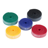 1PC/Paquet ORICO CBT-1S Velcro Plastique Nylon Câble d'Attaches Marques Colorés Courroies Ruban Fil Binging Sangle Joints de Couleurs Multiples