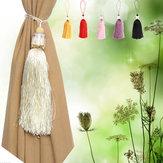 Le rideau de glands en cristal de verre de luxe tieback attache le détenteur de draperie le décor de famille