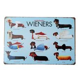 Dachshund Dog Tin Sign Vintage Metal Plaque Poster Bar Pub Home Wall Decor