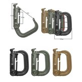 1 Piece MOLLE ITW Nexus GrimLoc D-Ring  Locking Clips 4 Colors for Optional