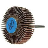 30mm Sanding Sandpaper Flap Wheel Disc 80 Grit For Dremel Rotary Tools