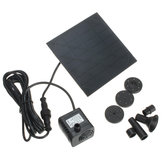 1.2W Solar Panel Power Water Pump Kit For Submersible Fountain Pond