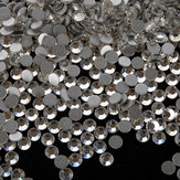 1440Pcs Clear Crystal Rhinestones Chiodo Art Tips Decorazione