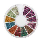 Mini Manicure Caviar Nails Art Tips Metal Micro Ball Beads Disc