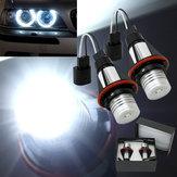2x BMW E39 E53 Car Angel Eye LED Halo Lights Lamps 5 W