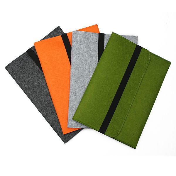 Smart Wool Felt Sleeve Case Cover Bag for 11 Inch Tablet Macbook