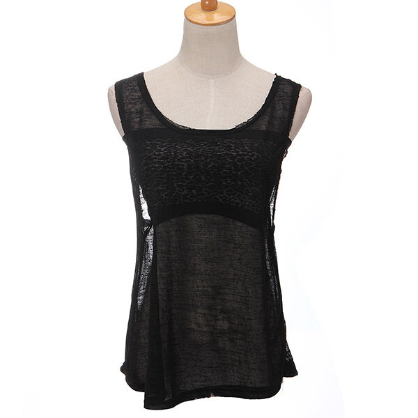 72ea579fb16725 see through vest for women crew neck loose tank tops at Banggood sold out