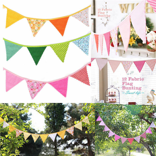 Shop For Cheap Festive Party Dress Up Supplies Birthday Flag Banner Pennant Decoration Decorate Banner Hang Flag Props Pull Flower Keep You Fit All The Time Event & Party