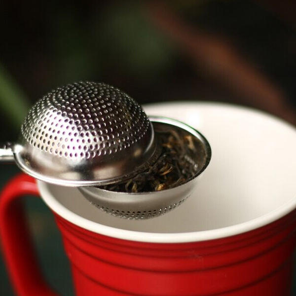 Stainless Steel Mesh Ball Spice Herbal Loose Leaf Infuser Tea Strainer Filter