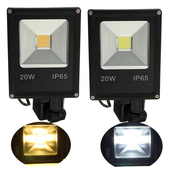 20w pir motion sensor led flood light ip65 warmcold white lighting 20w pir motion sensor led flood light ip65 warmcold white lighting fandeluxe