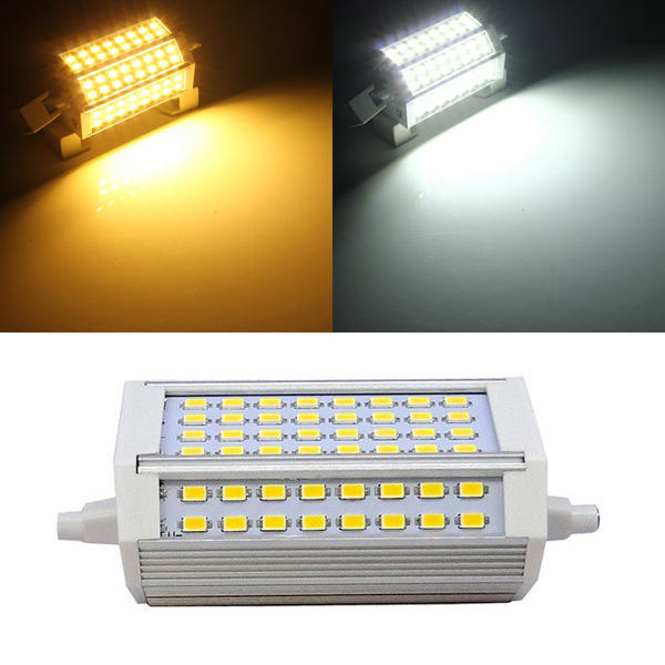 R7S 30W 3000LM 118mm 64 SMD5730 Warm White/White LED Light Bulb 85-265V