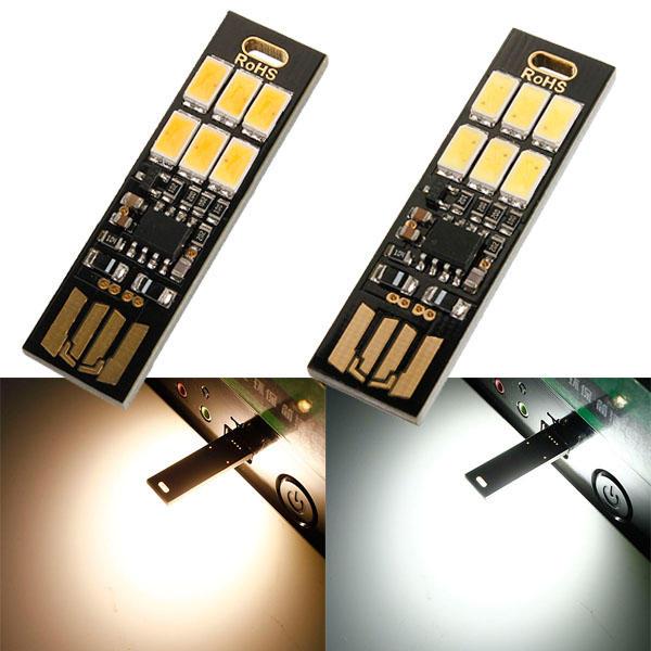 1W 50LM Mini LE Tragbarer Camping Licht Licht Touch Schalter