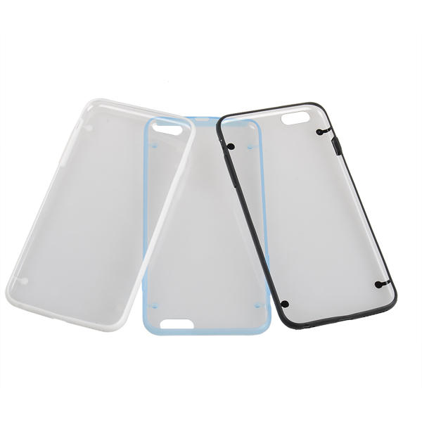 Ultra Thin Luminous TPU PC Dubbele Kleur Cover Voor iPhone 6 Plus & 6s Plus