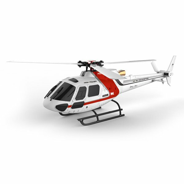 xk k123 6ch brushless as350 scale rc helicopter rtf mode 2. Black Bedroom Furniture Sets. Home Design Ideas